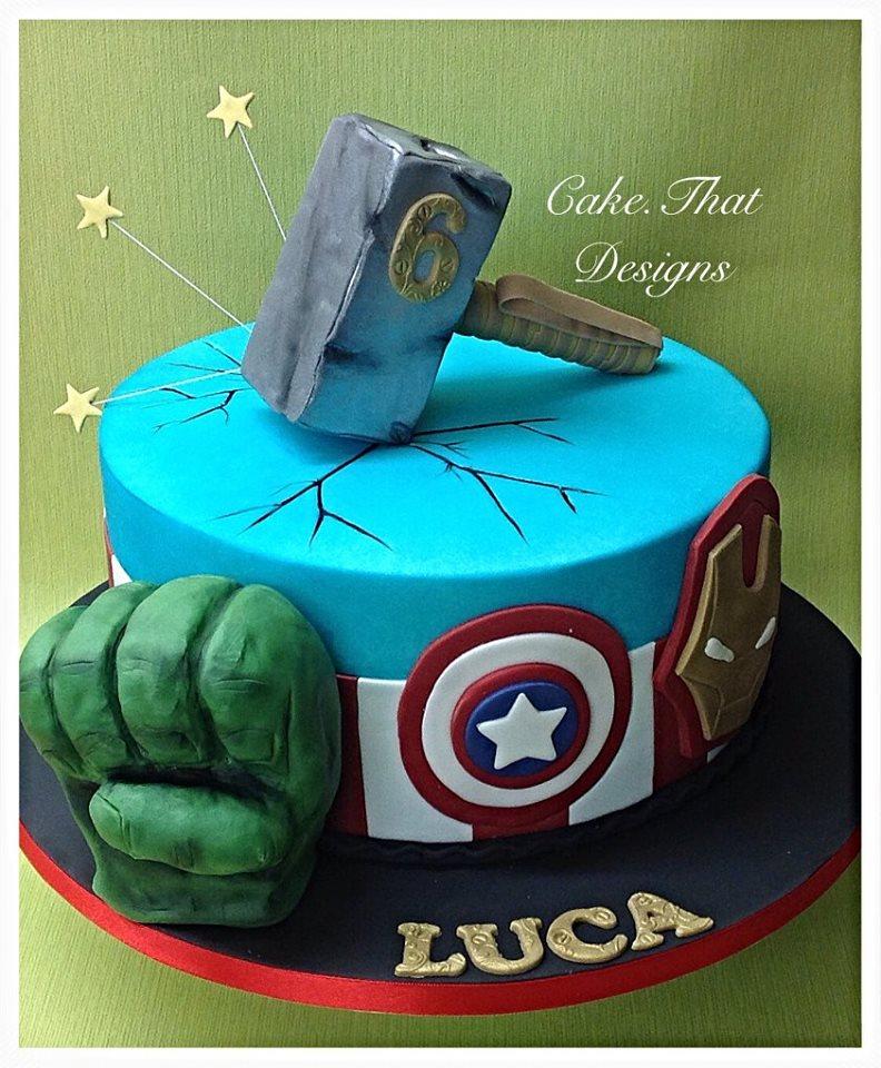 Boys Birthday Cakes