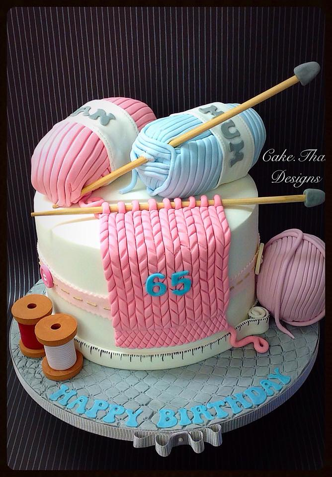 Knitting Cake Decorations : Cakes for ladies birthday gallery
